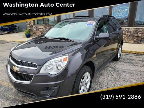 2013 Chevrolet Equinox for sale at Washington Auto Center in Washington IA