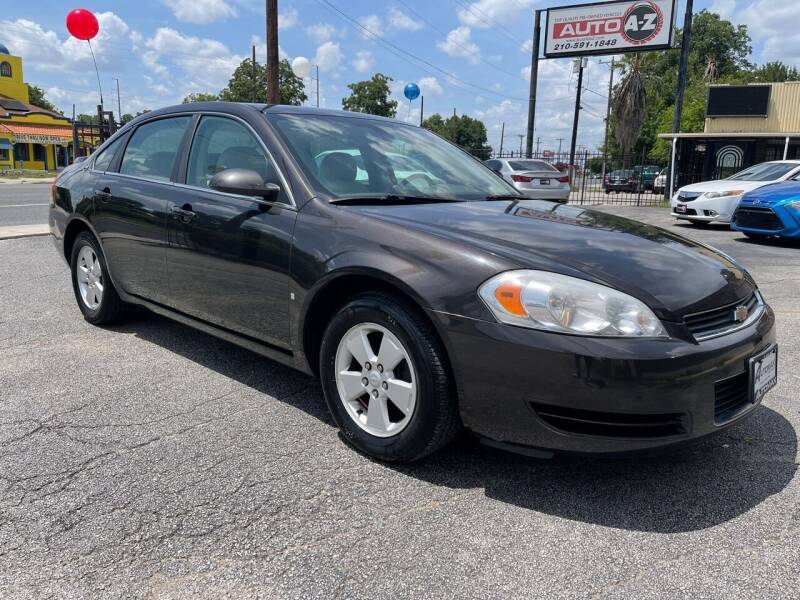 2008 Chevrolet Impala for sale at Auto A to Z / General McMullen in San Antonio TX