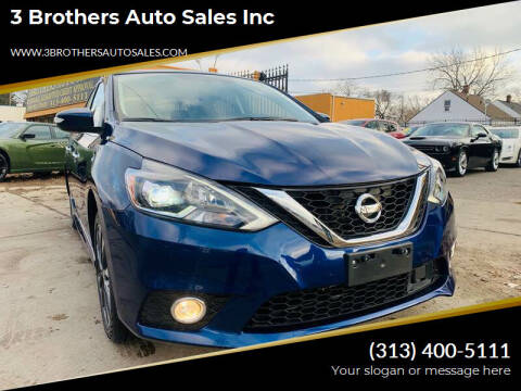 2019 Nissan Sentra for sale at 3 Brothers Auto Sales Inc in Detroit MI