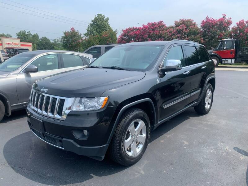 2013 Jeep Grand Cherokee for sale at Getsinger's Used Cars in Anderson SC