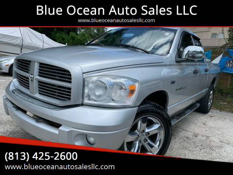 2007 Dodge Ram Pickup 1500 for sale at Blue Ocean Auto Sales LLC in Tampa FL