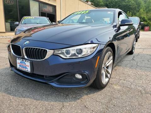 2017 BMW 4 Series for sale at Auto Wholesalers Of Hooksett in Hooksett NH