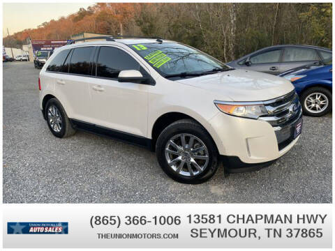 2013 Ford Edge for sale at Union Motors in Seymour TN