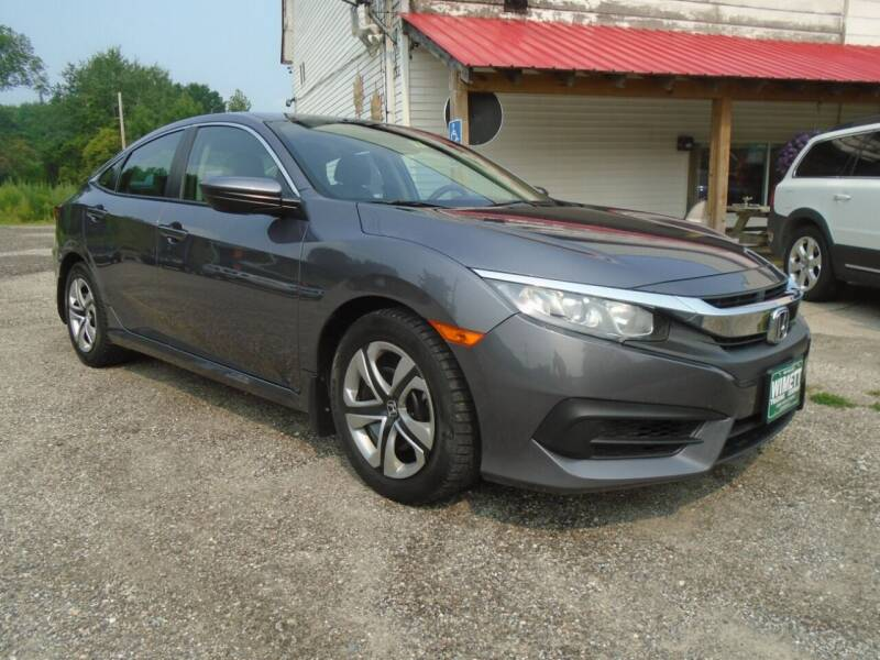 2016 Honda Civic for sale at Wimett Trading Company in Leicester VT