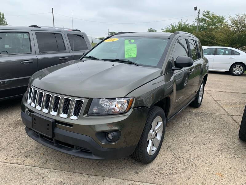 2016 Jeep Compass for sale at Cars To Go in Lafayette IN