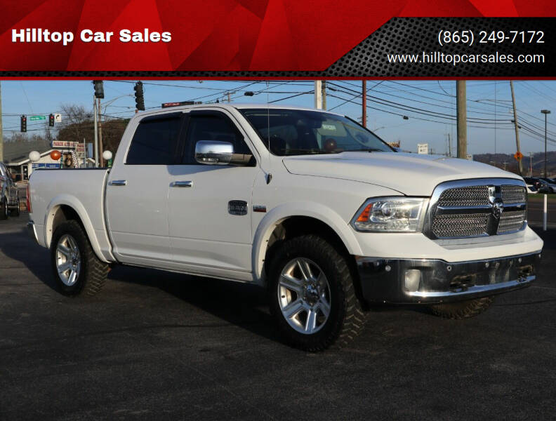 2016 RAM Ram Pickup 1500 for sale at Hilltop Car Sales in Knox TN