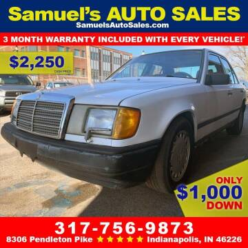 1987 Mercedes-Benz 300-Class for sale at Samuel's Auto Sales in Indianapolis IN