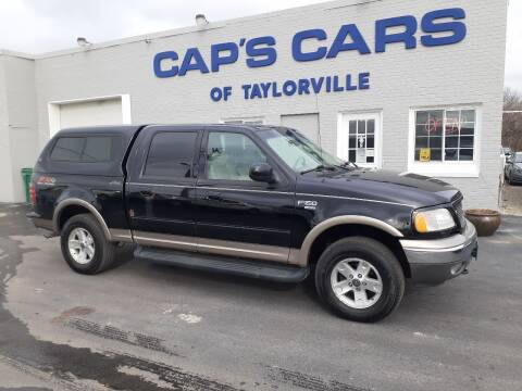 2002 Ford F-150 for sale at Caps Cars Of Taylorville in Taylorville IL