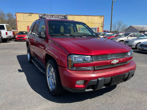 2003 Chevrolet TrailBlazer for sale at Virginia Auto Mall in Woodford VA