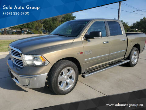 2015 RAM Ram Pickup 1500 for sale at Solo Auto Group in Mckinney TX