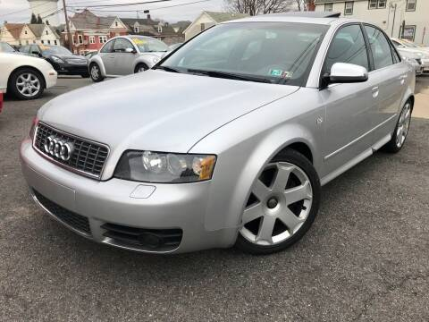 2005 Audi S4 for sale at Majestic Auto Trade in Easton PA