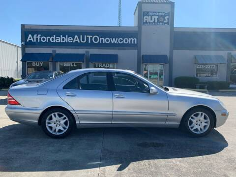2006 Mercedes-Benz S-Class for sale at Affordable Autos in Houma LA