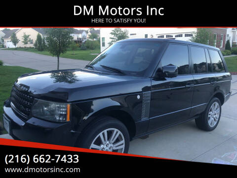 2011 Land Rover Range Rover for sale at DM Motors Inc in Maple Heights OH