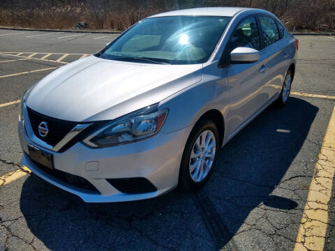 2019 Nissan Sentra for sale at Washington Street Auto Sales in Canton MA