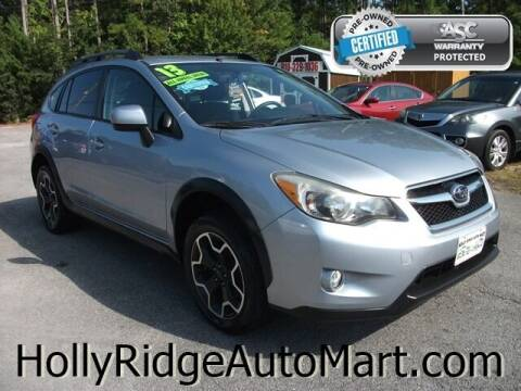 2013 Subaru XV Crosstrek for sale at Holly Ridge Auto Mart in Holly Ridge NC