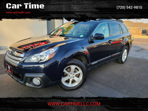 2013 Subaru Outback for sale at Car Time in Denver CO