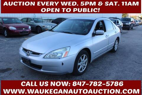 2004 Honda Accord for sale at Waukegan Auto Auction in Waukegan IL