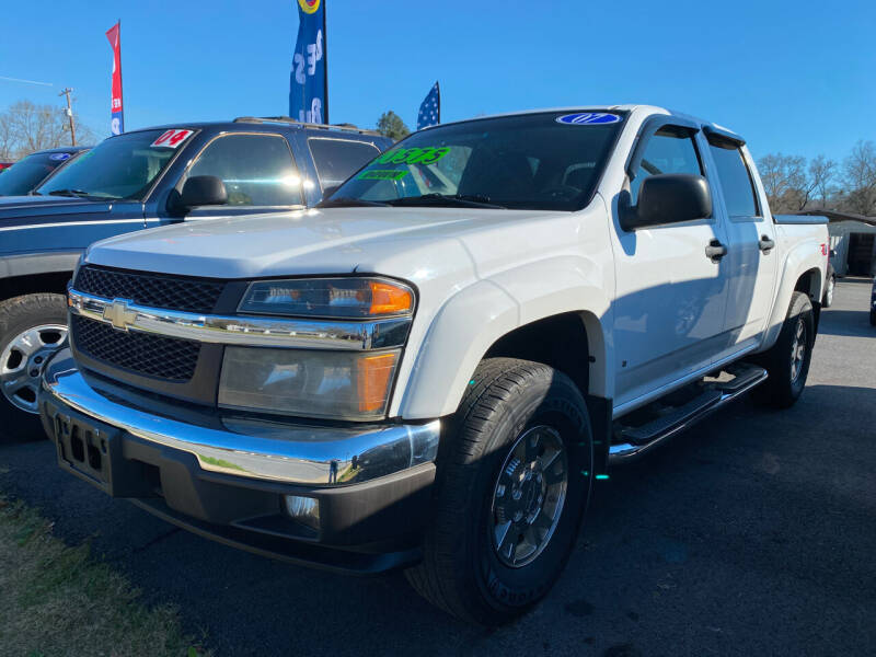 2007 Chevrolet Colorado for sale at Cars for Less in Phenix City AL