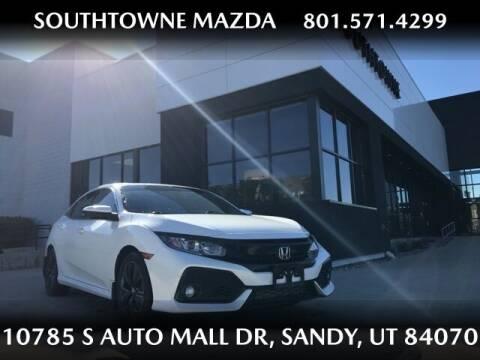 2017 Honda Civic for sale at Southtowne Mazda of Sandy in Sandy UT