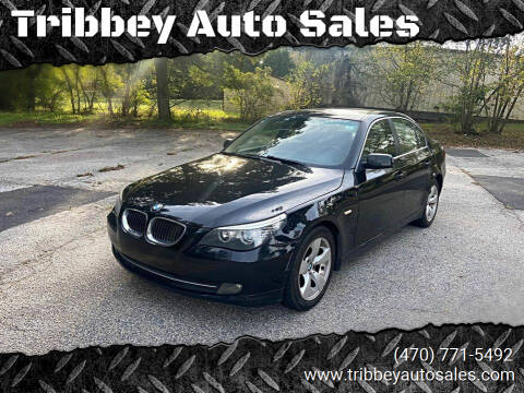 2008 BMW 5 Series for sale at Tribbey Auto Sales in Stockbridge GA