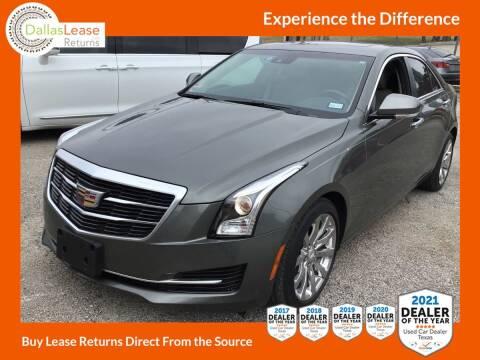 2017 Cadillac ATS for sale at Dallas Auto Finance in Dallas TX