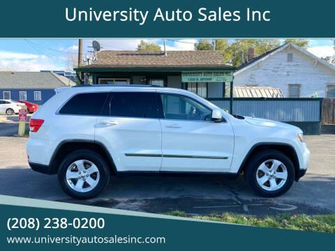 2011 Jeep Grand Cherokee for sale at University Auto Sales Inc in Pocatello ID