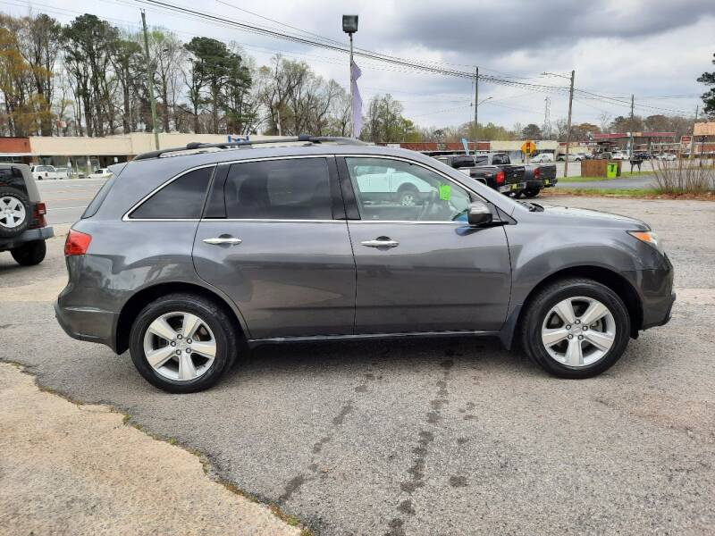 2010 Acura MDX for sale at PIRATE AUTO SALES in Greenville NC
