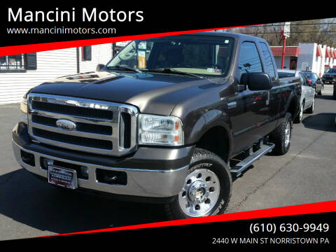 2005 Ford F-250 Super Duty for sale at Mancini Motors in Norristown PA