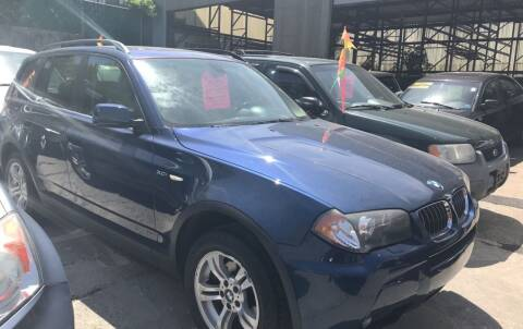 2006 BMW X3 for sale at Deleon Mich Auto Sales in Yonkers NY