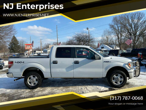 2010 Ford F-150 for sale at NJ Enterprises in Indianapolis IN