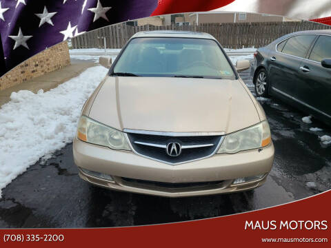 2002 Acura TL for sale at MAUS MOTORS in Hazel Crest IL