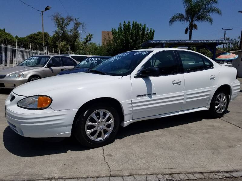 2001 Pontiac Grand Am for sale at Olympic Motors in Los Angeles CA