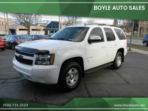 2009 Chevrolet Tahoe for sale at Boyle Auto Sales in Appleton WI