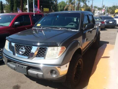 2006 Nissan Frontier for sale at ZOOM CARS LLC in Sylmar CA