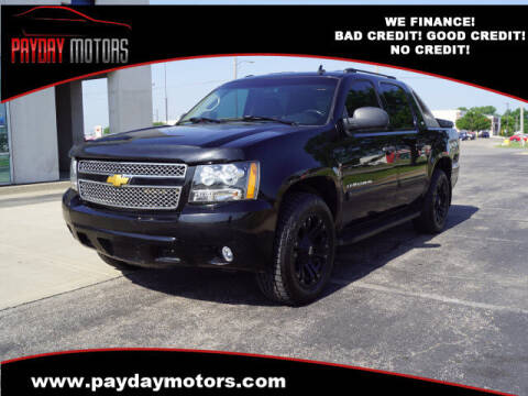 2008 Chevrolet Avalanche for sale at Payday Motors in Wichita KS