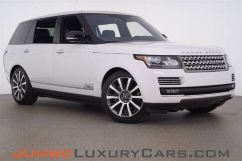 2017 Land Rover Range Rover for sale at JumboAutoGroup.com - Jumboluxurycars.com in Hollywood FL