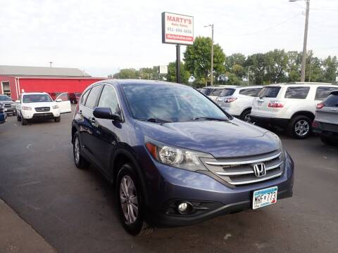 2013 Honda CR-V for sale at Marty's Auto Sales in Savage MN