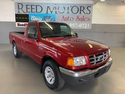 2003 Ford Ranger for sale at REED MOTORS LLC in Phoenix AZ