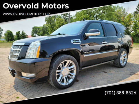 2011 Cadillac Escalade Hybrid for sale at Overvold Motors in Detroit Lakes MN