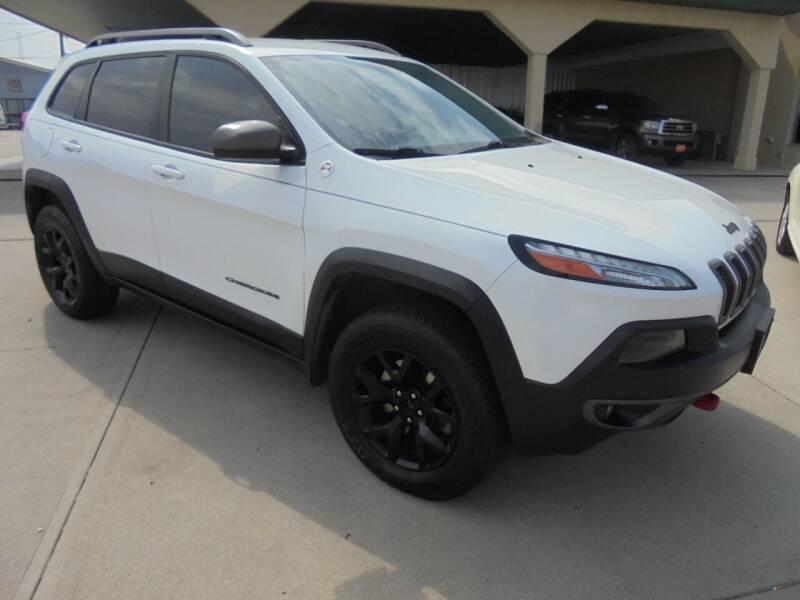 2014 Jeep Cherokee for sale at KICK KARS in Scottsbluff NE