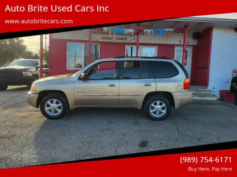 2006 GMC Envoy for sale at Auto Brite Used Cars Inc in Saginaw MI