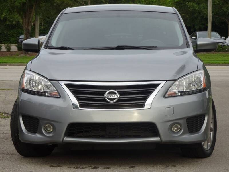 2013 Nissan Sentra for sale at Deal Maker of Gainesville in Gainesville FL