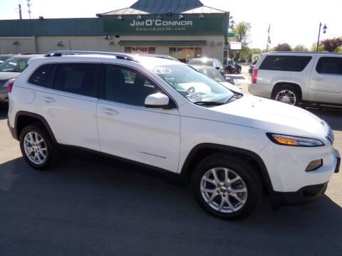 2017 Jeep Cherokee for sale at Jim O'Connor Select Auto in Oconomowoc WI