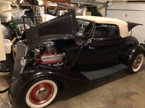 1934 Ford Cabriolet  for sale at Classic Car Deals in Cadillac MI