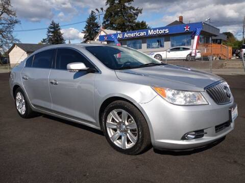 2013 Buick LaCrosse for sale at All American Motors in Tacoma WA