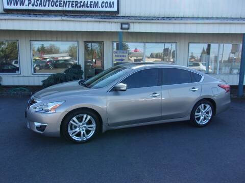 2013 Nissan Altima for sale at PJ's Auto Center in Salem OR