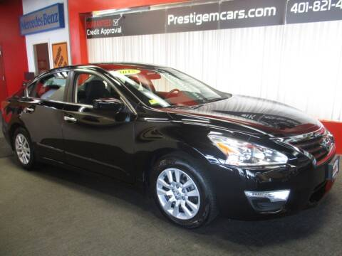 2015 Nissan Altima for sale at Prestige Motorcars in Warwick RI