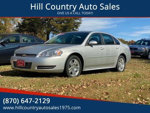 2014 Chevrolet Impala Limited for sale at Hill Country Auto Sales in Maynard AR