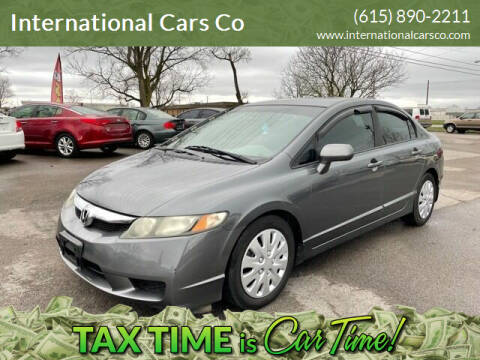 2010 Honda Civic for sale at International Cars Co in Murfreesboro TN