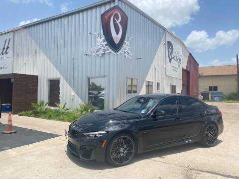 2018 BMW M3 for sale at Barrett Auto Gallery in San Juan TX